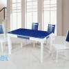 喜洋洋时尚玻璃餐桌椅