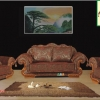 嘉友皮配布沙发客厅家具