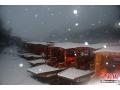 高清:雪后龙虎山 丹霞披白衣 山水易朦胧 (4)