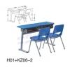 厂家大量供应学生课桌椅 定做多人位课桌 优质学生课桌