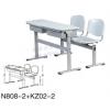 厂家塑钢学生课桌椅 定做优质学生课桌椅
