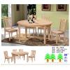 实木餐桌餐椅T903