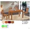 实木餐桌餐椅T908