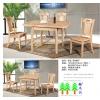 实木餐桌餐椅T909