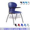 塑钢家具 学生培训椅 带写字板椅子 学生写字椅
