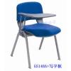 高档办公会议椅,软布海绵学生培训椅带写字板办公椅塑钢椅写字椅