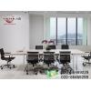 供应广州办公桌椅广东板式办公家具产品新款板式会议台
