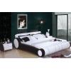 皮床软体双人床真皮床 时尚 品牌结婚床