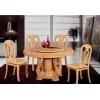 橡木餐桌、橡木台