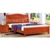 天利圆2903橡木床,大量批发南康实木床,白胚床,双人床,餐椅