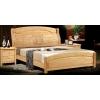 天利圆6902橡木床,大量批发南康实木床,白胚床,双人床,餐椅