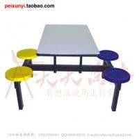 广东茂名塑钢家具 专业定制 四人餐桌椅