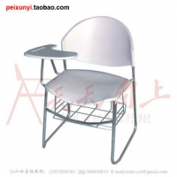 广东汕头人气组合带写字板书篮学生椅会议椅
