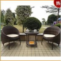 户外家具 休闲家具 仿藤桌椅 藤编桌椅 椅子茶几套件A887