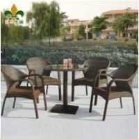 户外家具 庭院家具 仿藤桌椅套件 藤编桌椅 阳台桌椅A880