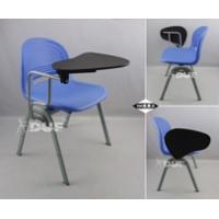 培训椅子带写字板可侧翻写字椅加厚型一体课桌椅广东厂家直销