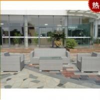 办公家具 会所沙发 仿藤沙发 藤编沙发套件 休闲沙发A915
