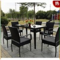 餐桌 餐椅 阳台家具 休闲桌椅 户外桌椅 庭院桌椅A849