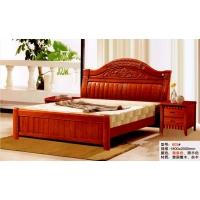 603橡木床,厂家直销实木床|白胚床|床垫|餐桌|沙发