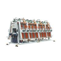 双面油压拼板机 木工机械设备 龙丰牌双面油压拼板机价格实惠