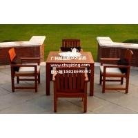世界杯厂家促销实木桌椅成品套椅庭院桌椅园林套椅
