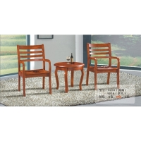 酒店家具|咖啡椅|圆茶几|橡木围椅|单人沙发