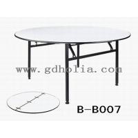 广东酒店家具厂家,折叠酒店桌价格,宴会圆桌批发,PVC餐桌