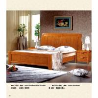 赣州南康江西珍园家具联圆牧歌 921#泰国进口橡木床 床头柜