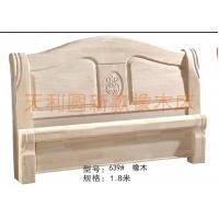 天利圆639白胚床,厂家直销实木床,橡木床,餐桌,儿童床