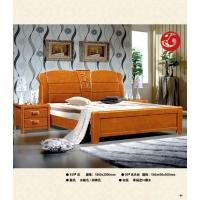 赣州南康江西珍园家具联圆牧歌 929#泰国进口橡木床 床头柜