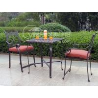 户外休闲家具 庭院家具 咖啡厅桌椅 忆花园铸铝桌椅