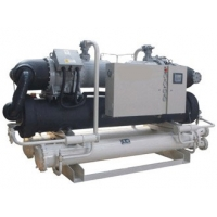 水冷螺杆低温冷水机组(双压缩机)-5℃