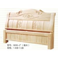 2015新款白坯床,家具厂直销橡木床|实木床|白胚床|白茬