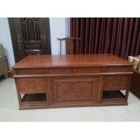 古典花梨办公桌,书柜,非花缅花