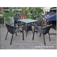 凉台休闲桌椅、西餐厅户外桌椅、小区休闲桌椅