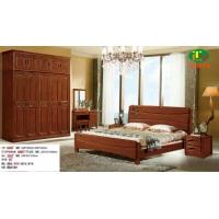 2014新款水曲柳实木床,批发橡木床|白坯床|沙发|床垫|床头柜