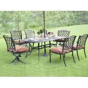 馨宁居铸铝文竹太师椅,别墅庭院桌椅,休闲户外桌椅