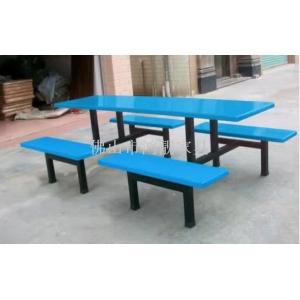 玻璃钢餐桌椅,员工餐厅桌椅,4人8人位餐桌椅,餐厅家具