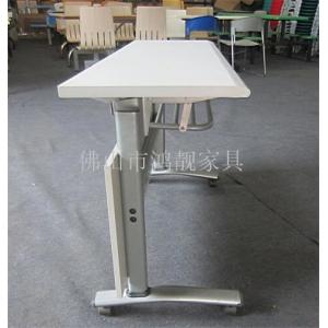 培训桌生产厂家,阅览室桌椅,侧翻折叠会议桌,条形长条桌