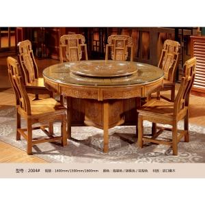 南康雅尚家具(橡木餐桌椅)