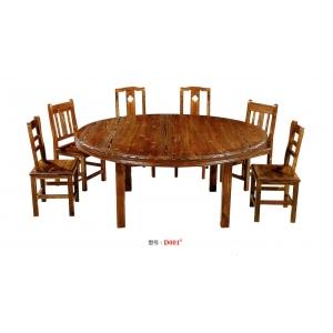 康城酒店家具(炭烧餐桌椅)