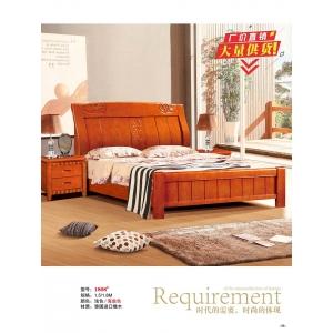 龙平家具(橡木床)