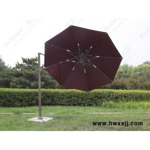 北京户外遮阳圆形罗马旋转伞