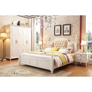 南康润梵美式家具(美式实木床)
