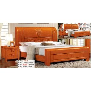 南康豪达家具(橡木床)
