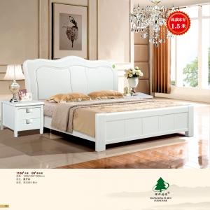 祥邦福瑞家具(橡木床)