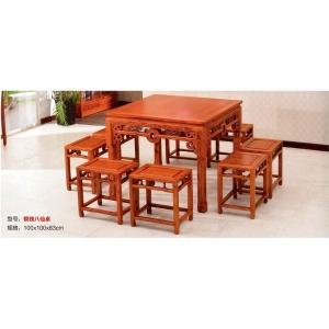 盛德吉祥古典家具(餐桌椅)