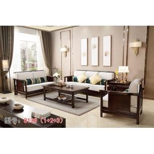 南康狼图新中式家具(实木沙发)