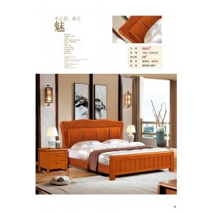 世纪长江家具(橡木床)