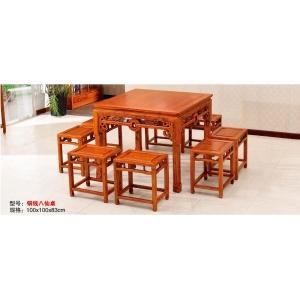 邱氏明清古典家具(餐桌椅)